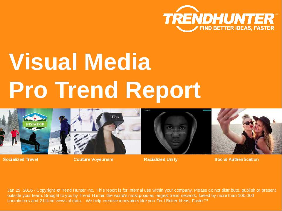 Visual Media Trend Report Research