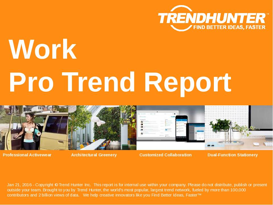Work Trend Report Research