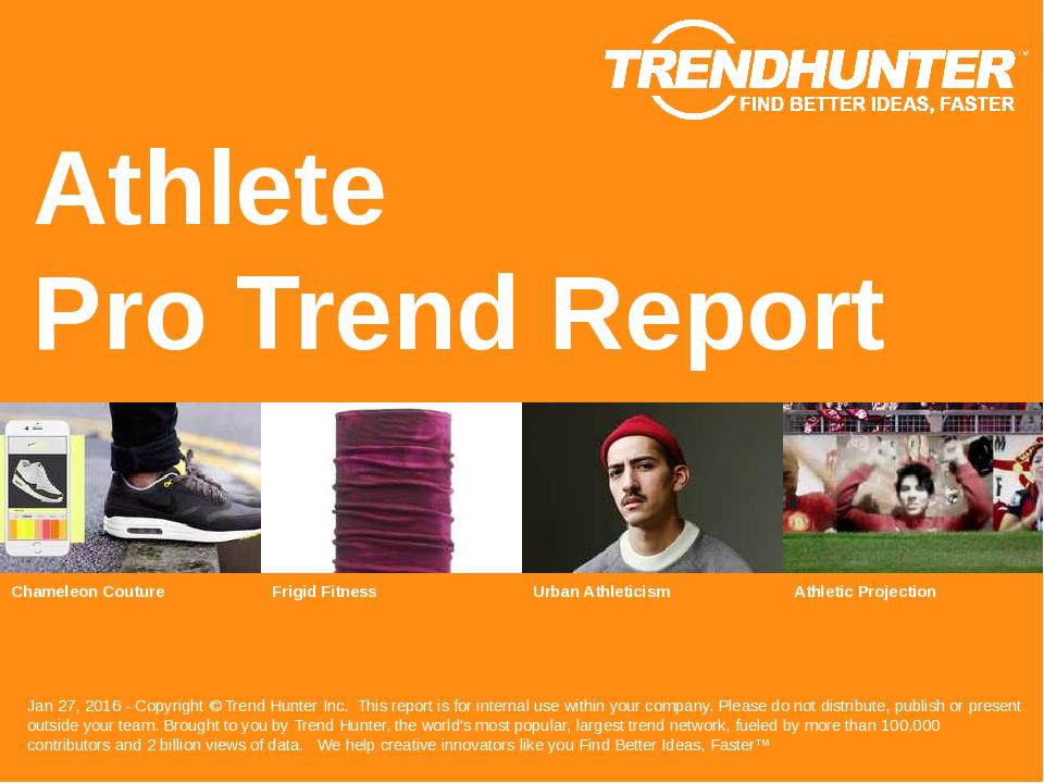 Athlete Trend Report Research