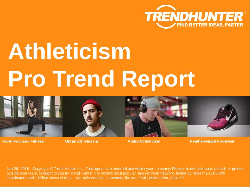 Athleticism Trend Report Research