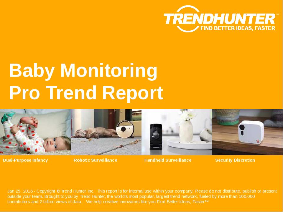Baby Monitoring Trend Report Research