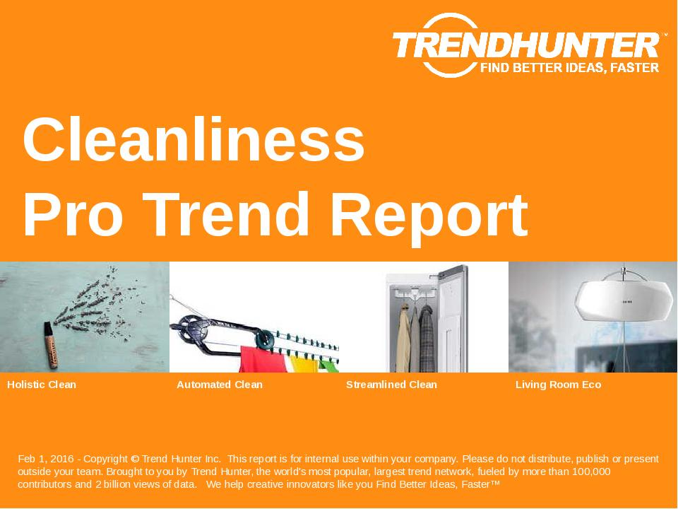 Cleanliness Trend Report Research