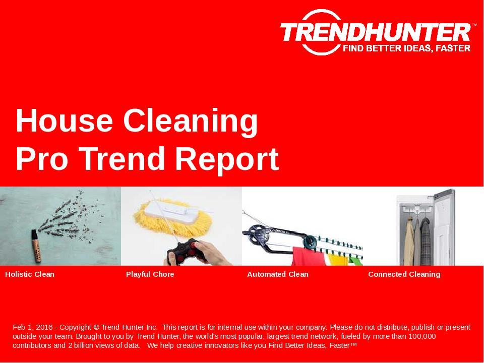 House Cleaning Trend Report Research