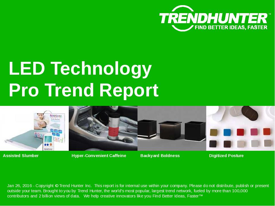 LED Technology Trend Report Research