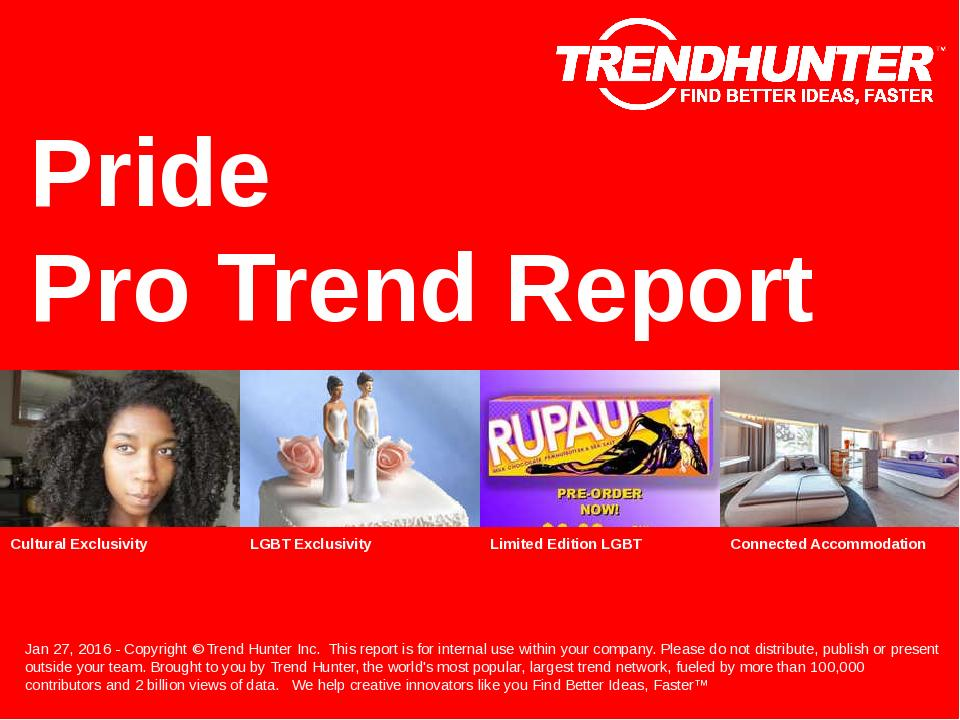 Pride Trend Report Research