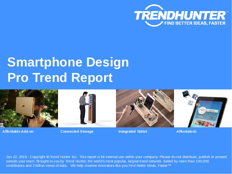 Smartphone Design Trend Report Research