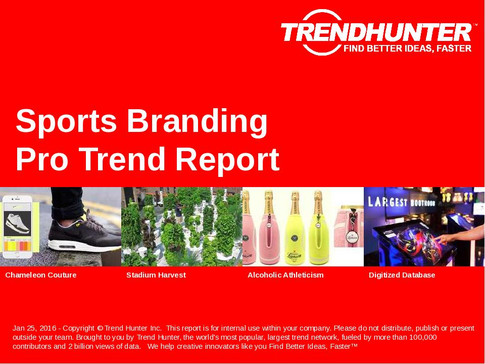 Sports Branding Trend Report Research