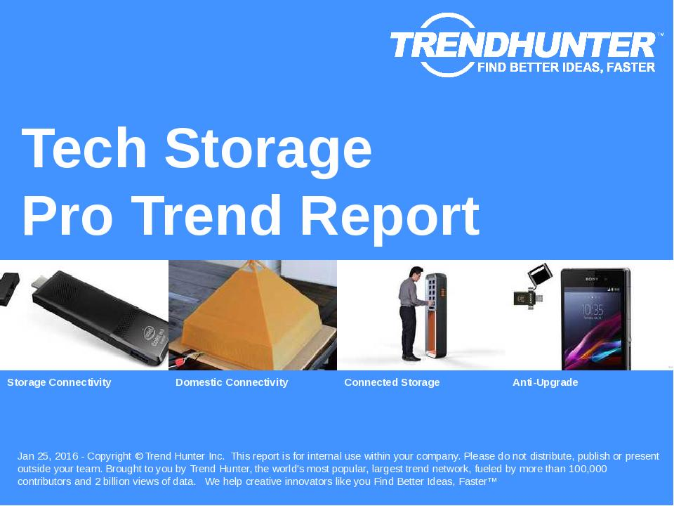 Tech Storage Trend Report Research