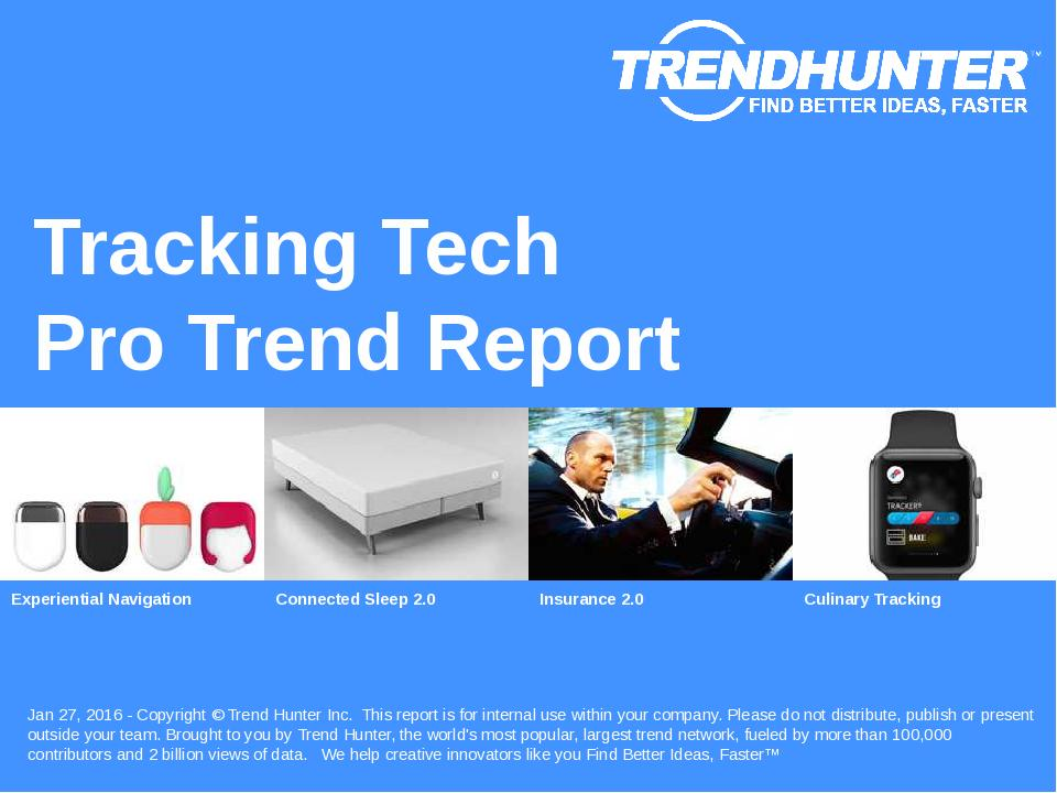 Tracking Tech Trend Report Research