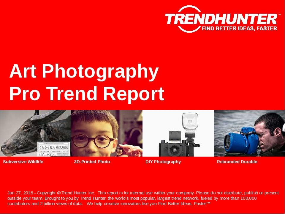 Art Photography Trend Report Research