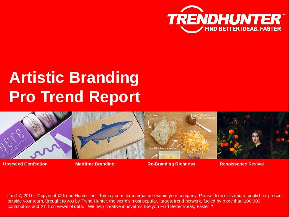 Artistic Branding Trend Report Research