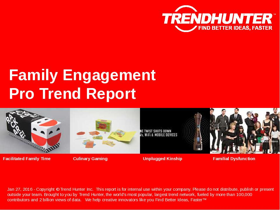 Family Engagement Trend Report Research