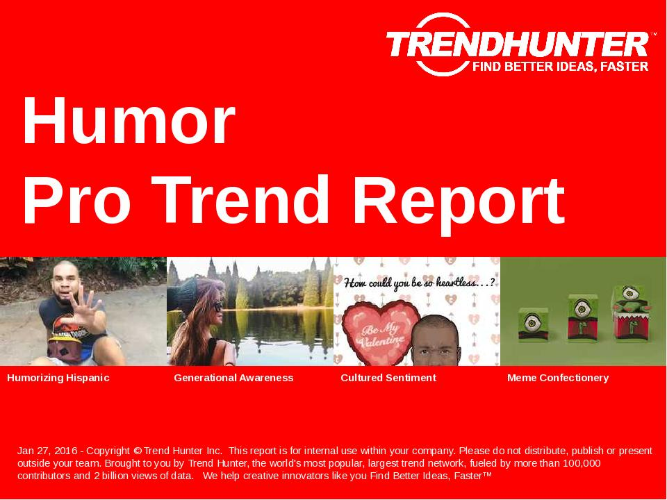 Humor Trend Report Research