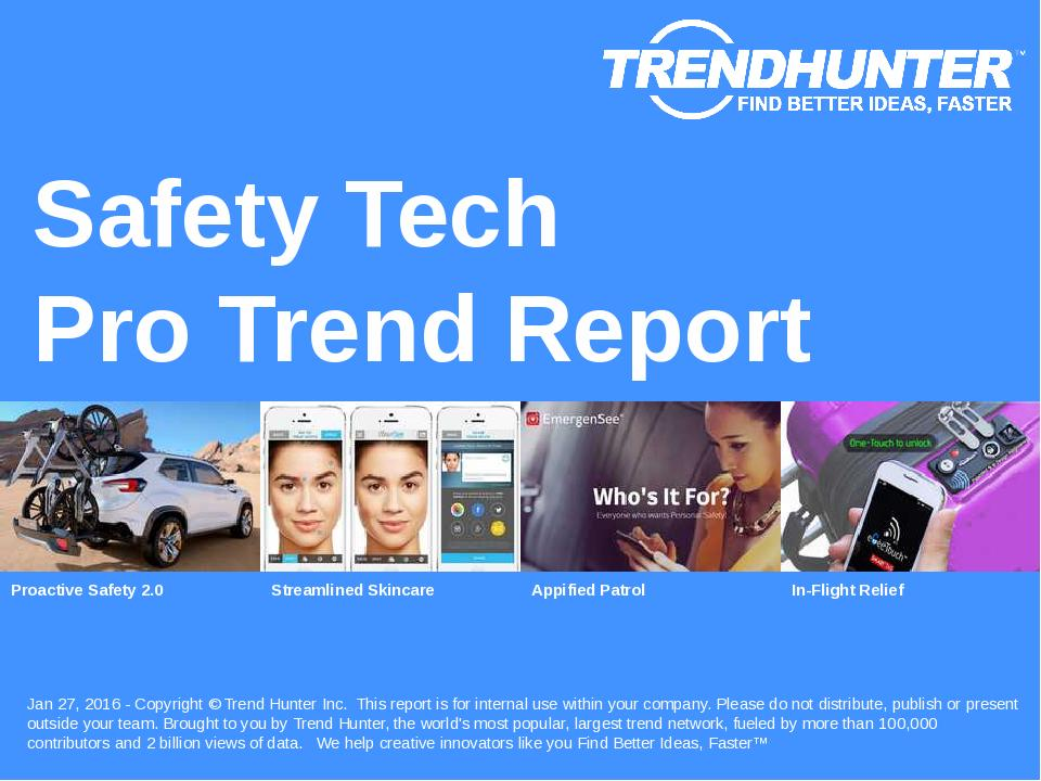 Safety Tech Trend Report Research