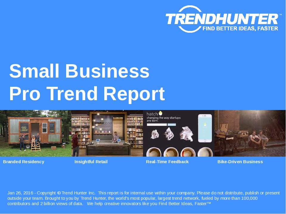 Small Business Trend Report Research
