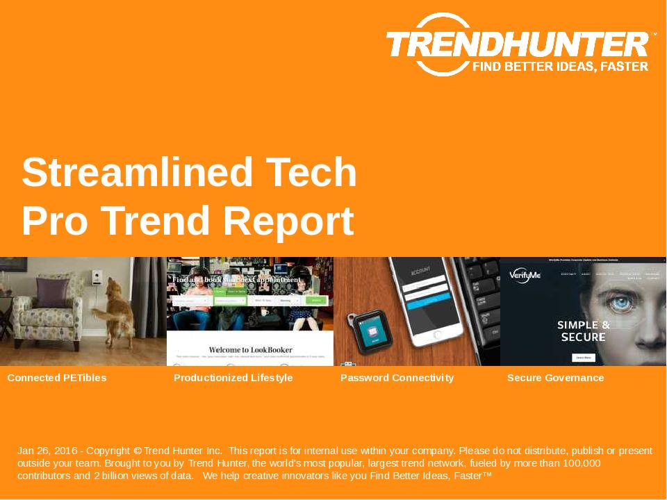 Streamlined Tech Trend Report Research