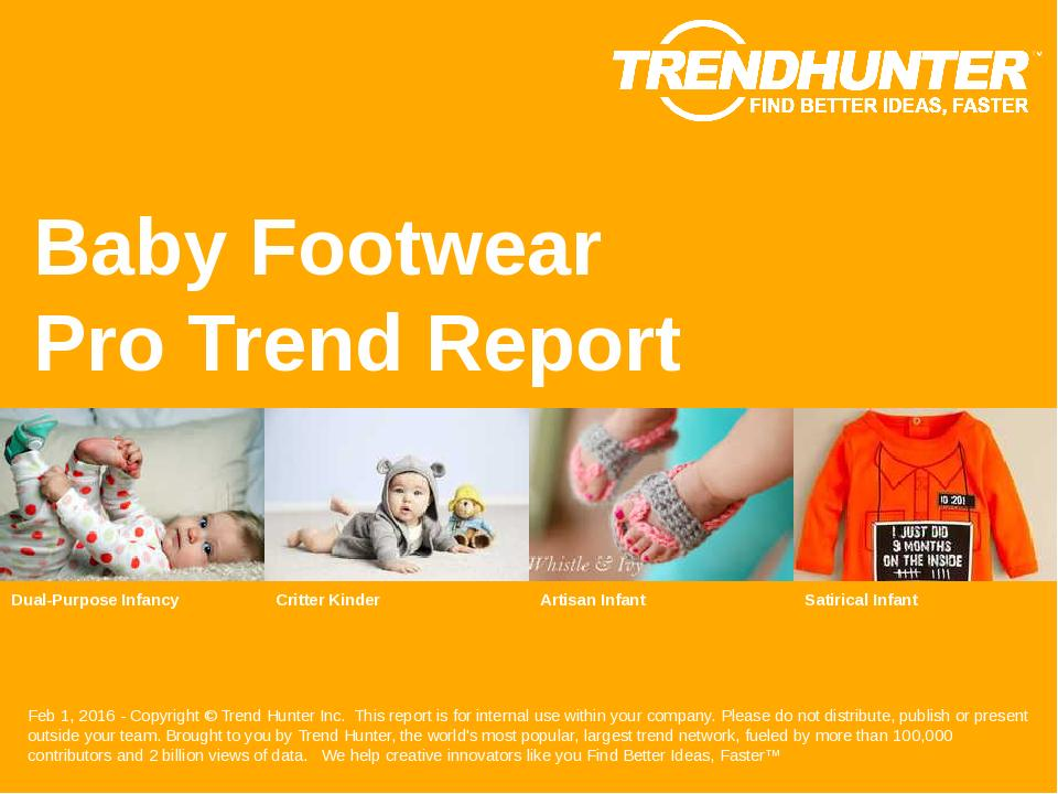 Baby Footwear Trend Report Research