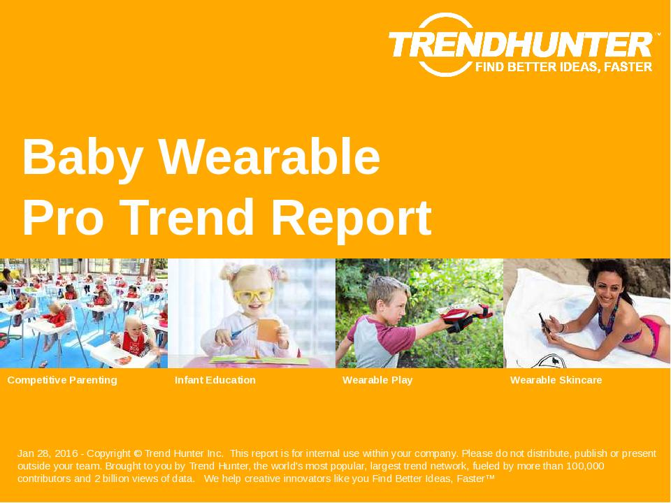 Baby Wearable Trend Report Research