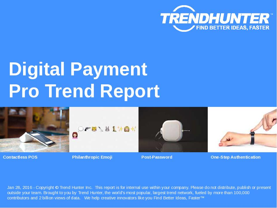 Digital Payment Trend Report Research