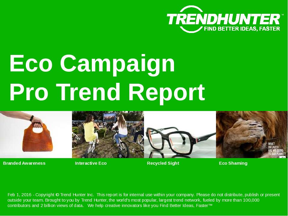 Eco Campaign Trend Report Research