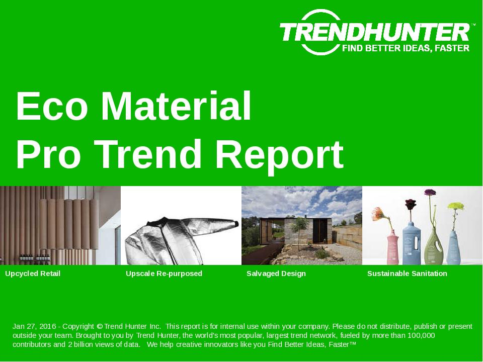 Eco Material Trend Report Research