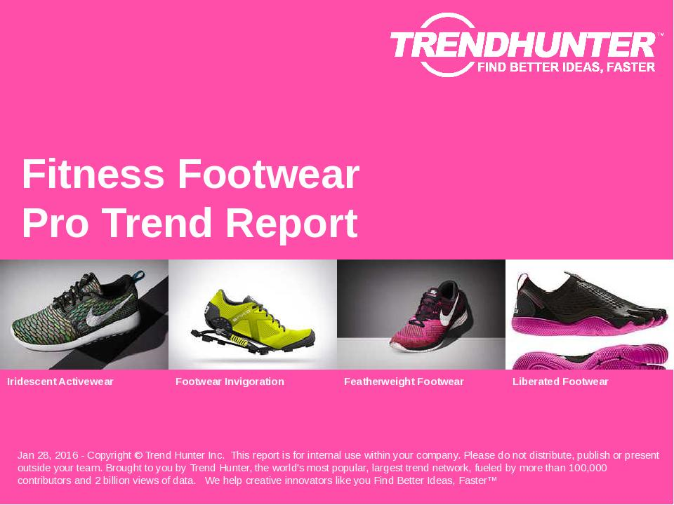 Fitness Footwear Trend Report Research
