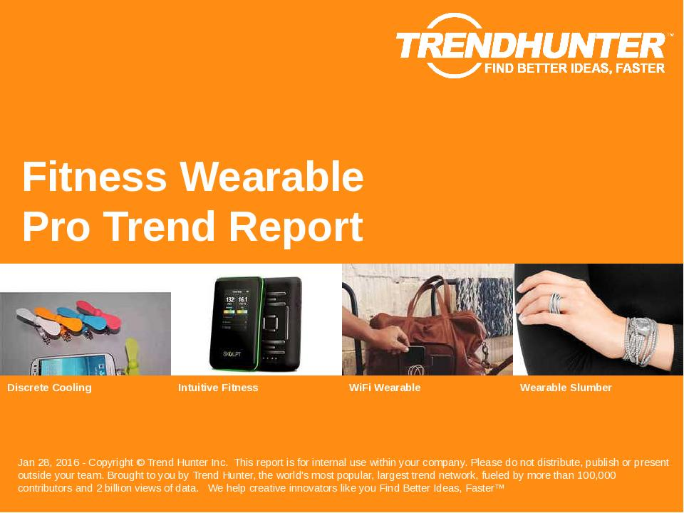 Fitness Wearable Trend Report Research