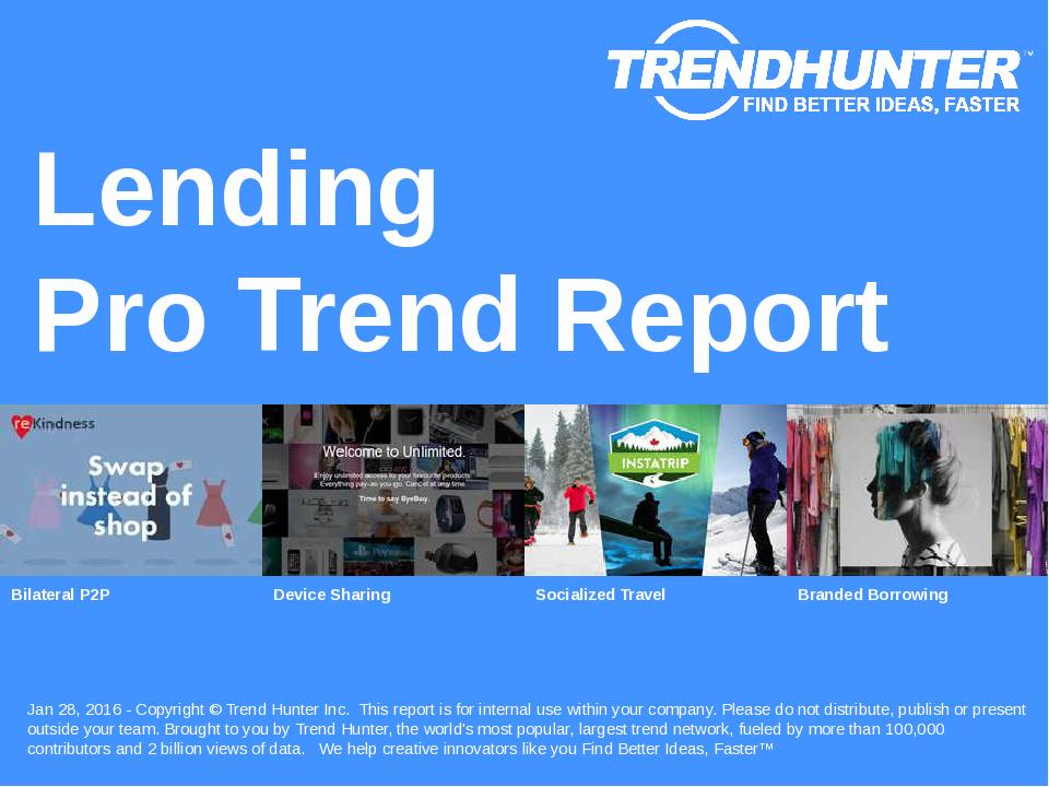 Lending Trend Report Research