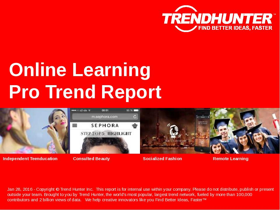 Online Learning Trend Report Research