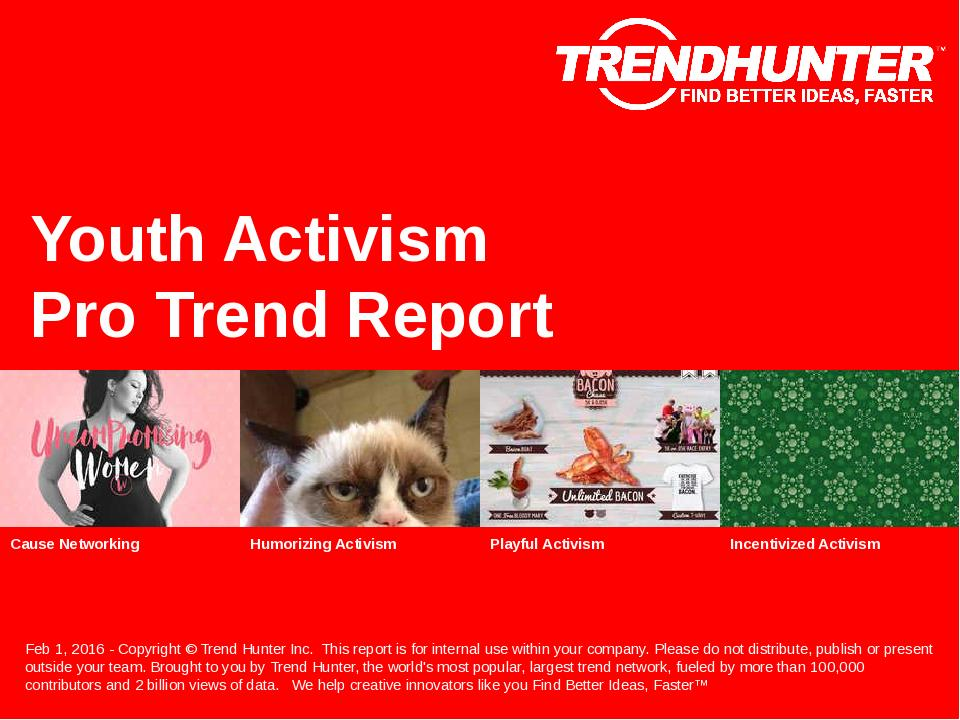 Youth Activism Trend Report Research