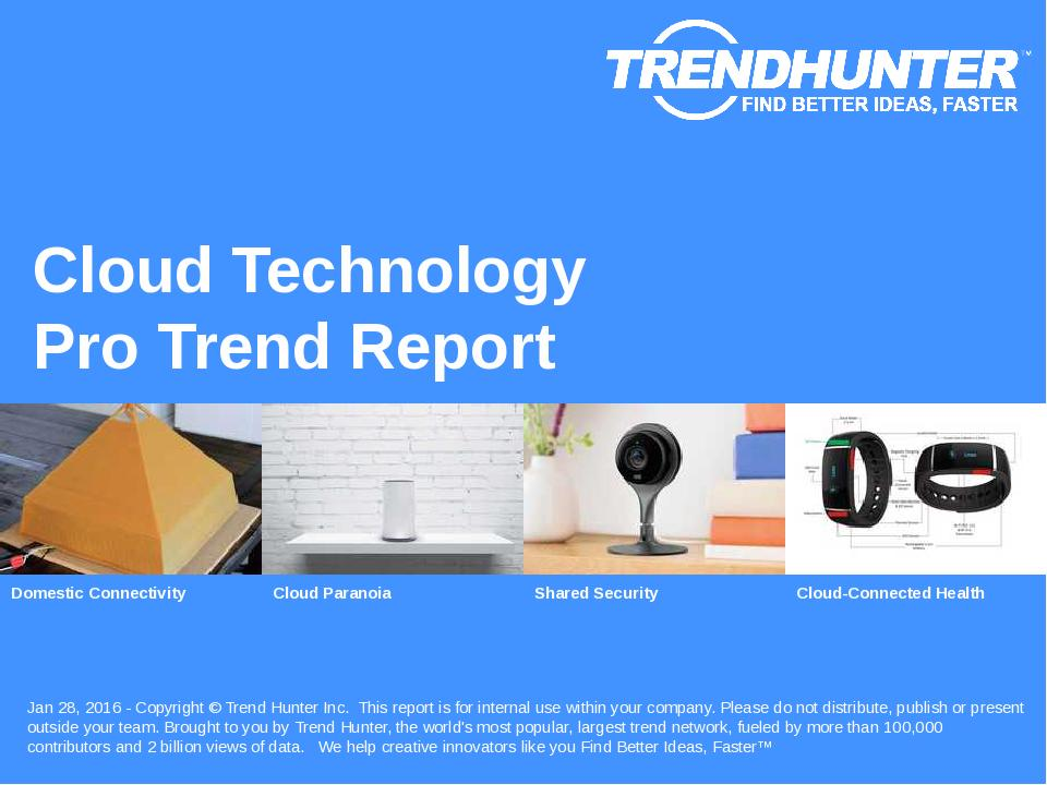 Cloud Technology Trend Report Research