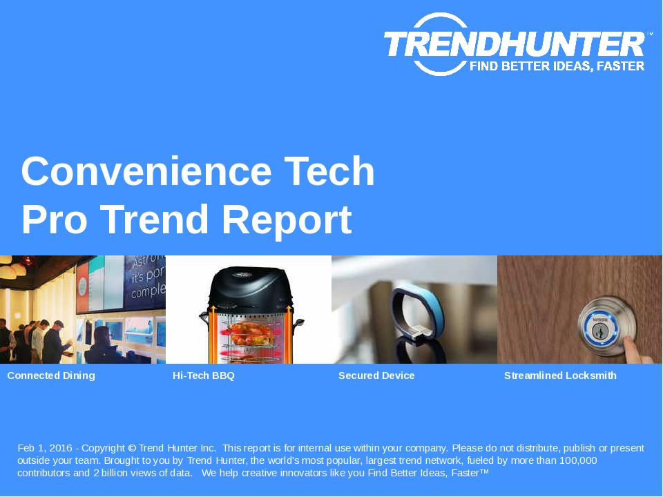 Convenience Tech Trend Report Research