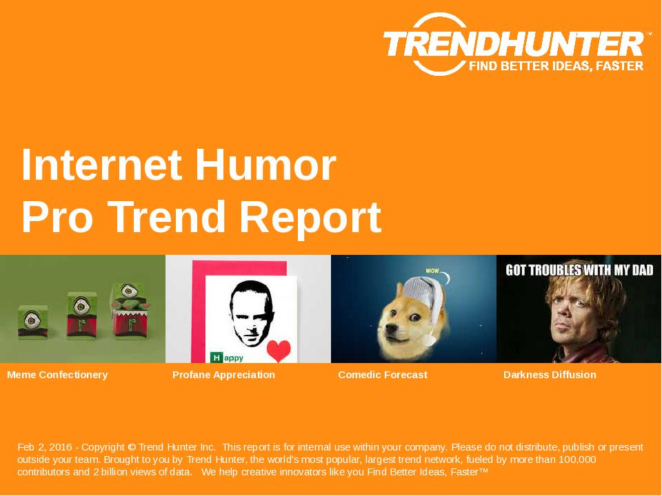 Internet Humor Trend Report Research