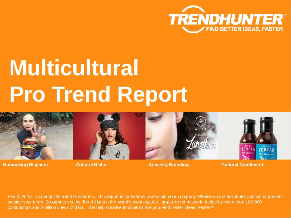 Multicultural Trend Report Research