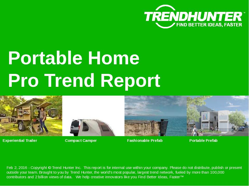 Portable Home Trend Report Research