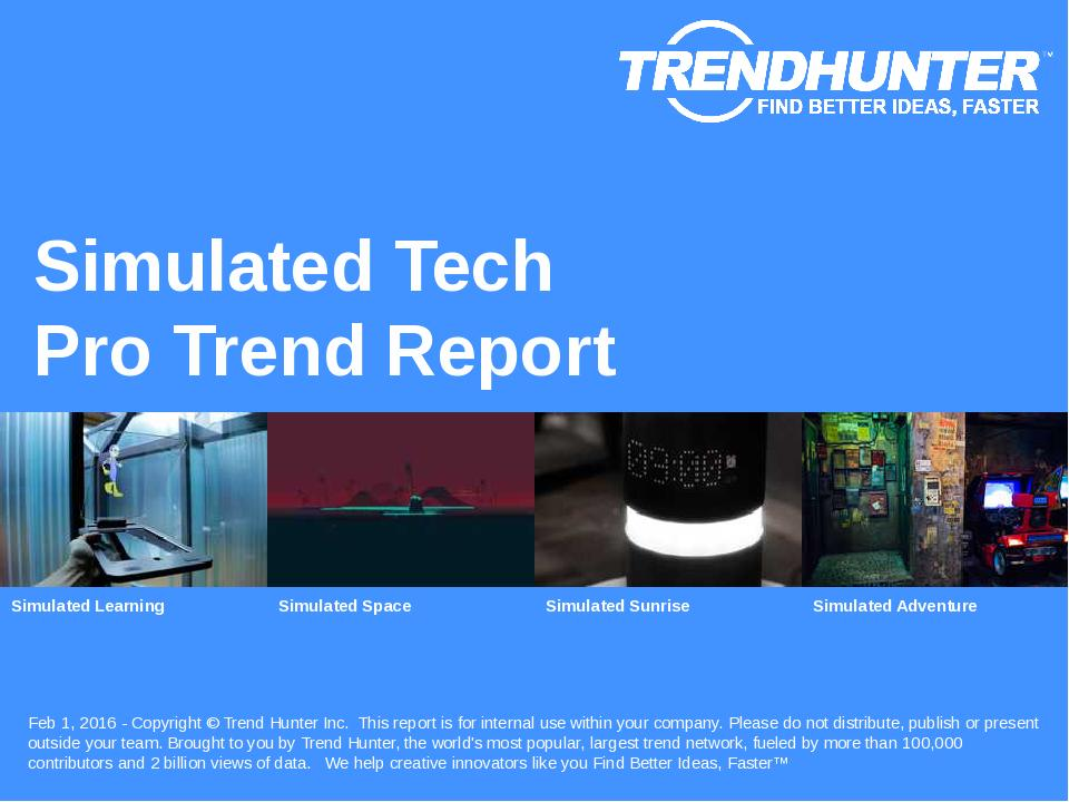 Simulated Tech Trend Report Research