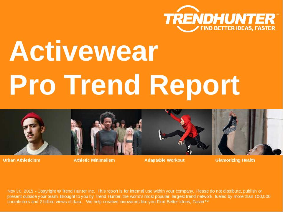 Activewear Trend Report Research
