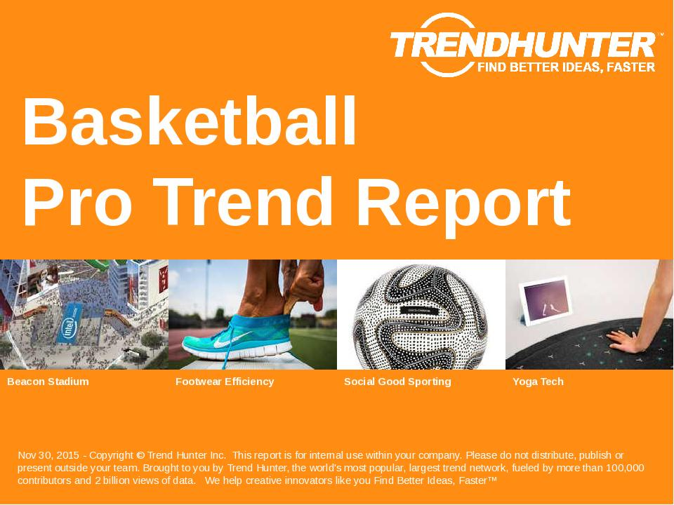 Basketball Trend Report Research