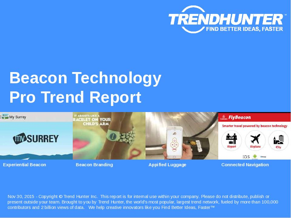 Beacon Technology Trend Report Research