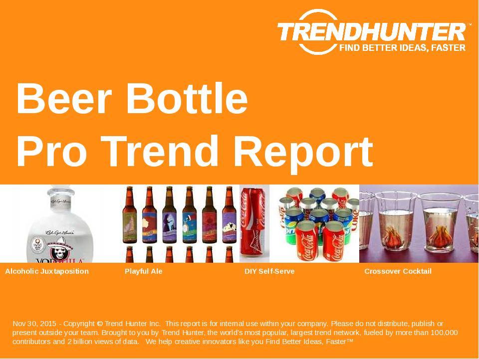 Beer Bottle Trend Report Research