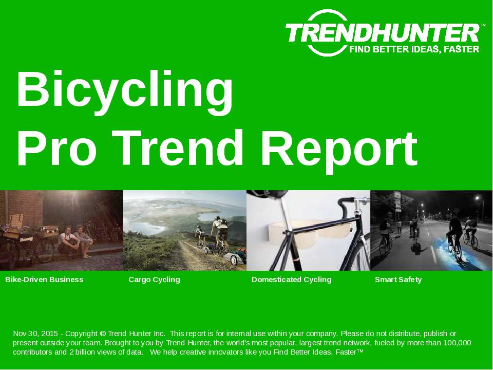 Bicycling Trend Report Research