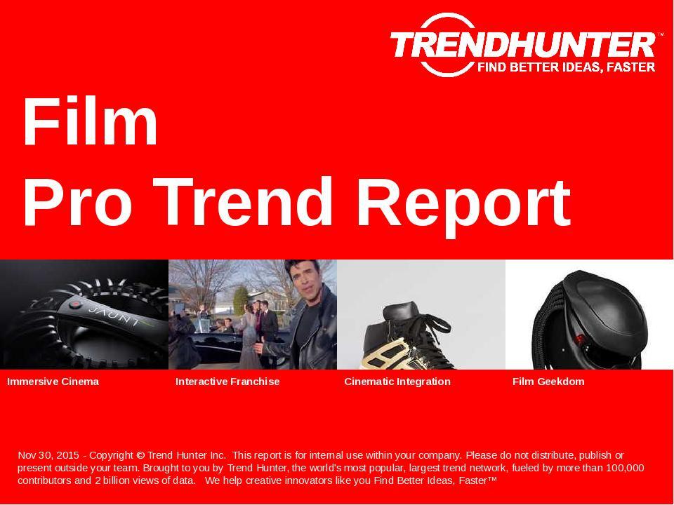 Film Trend Report Research