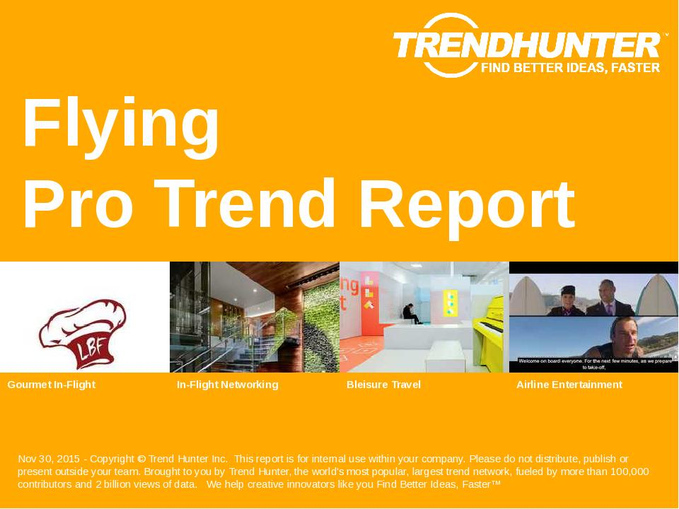 Flying Trend Report Research