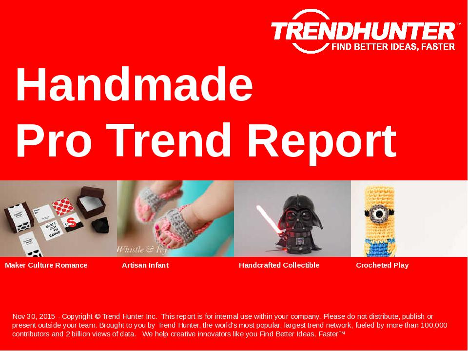Handmade Trend Report Research