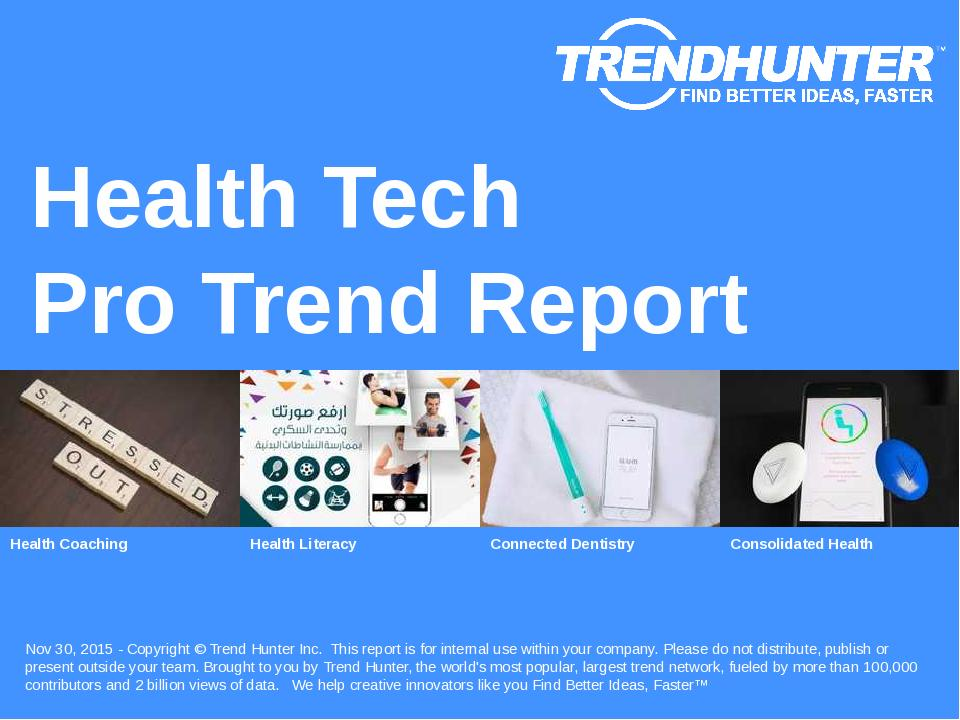 Health Tech Trend Report Research