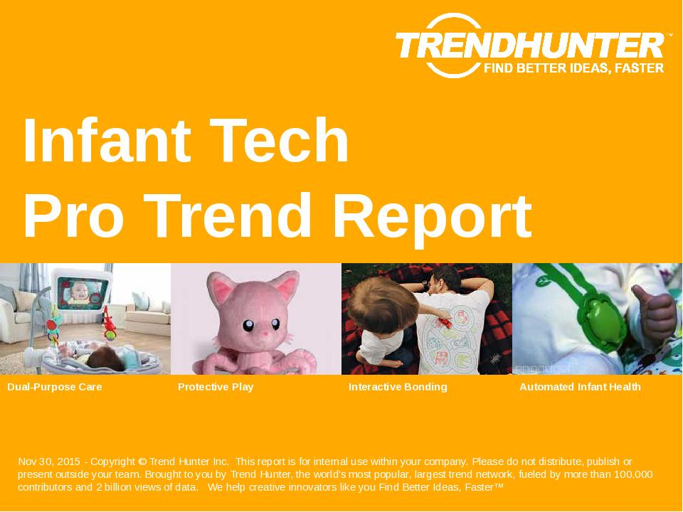 Infant Tech Trend Report Research