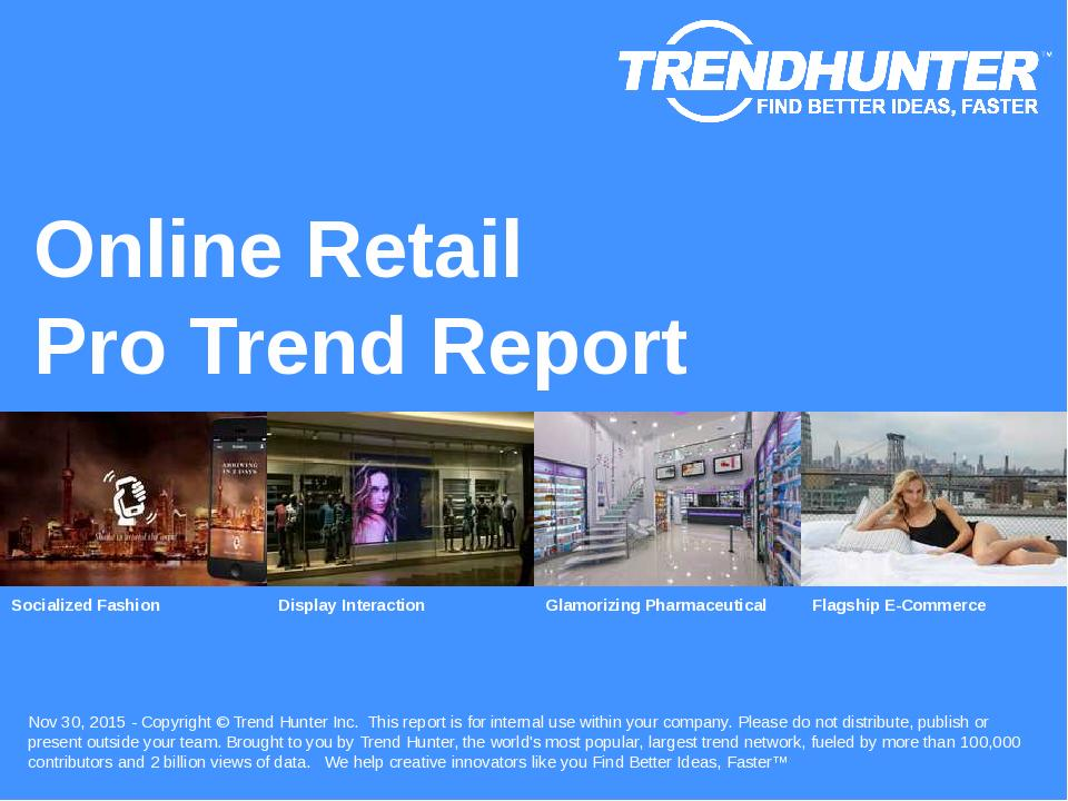 Online Retail Trend Report Research