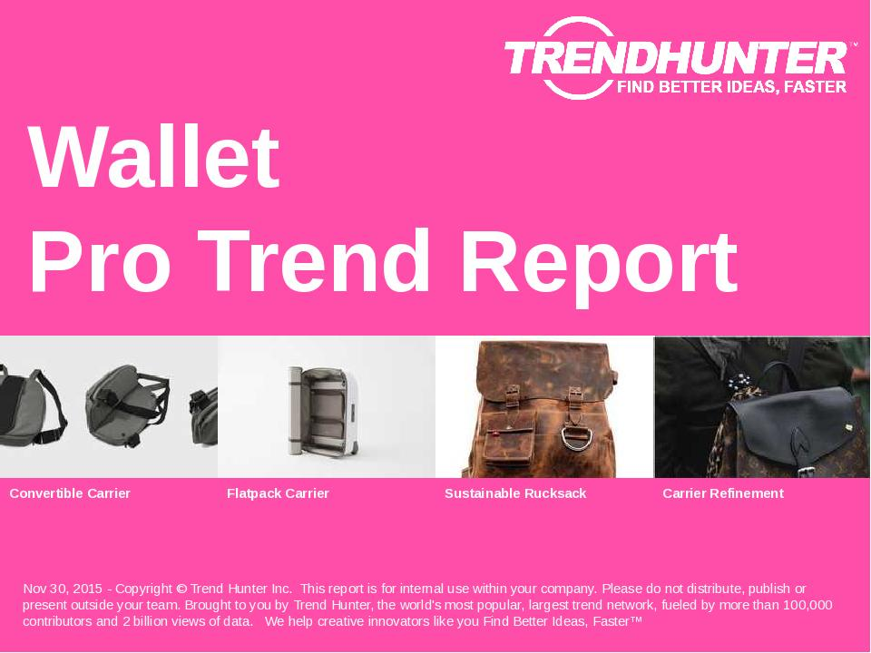 Wallet Trend Report Research