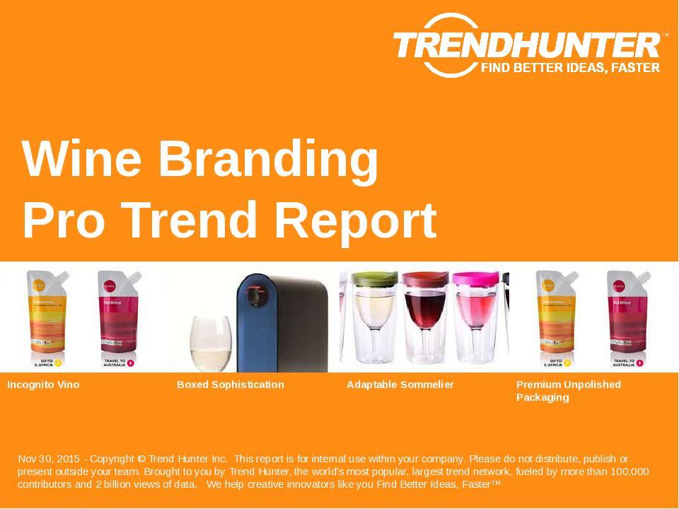 Wine Branding Trend Report Research