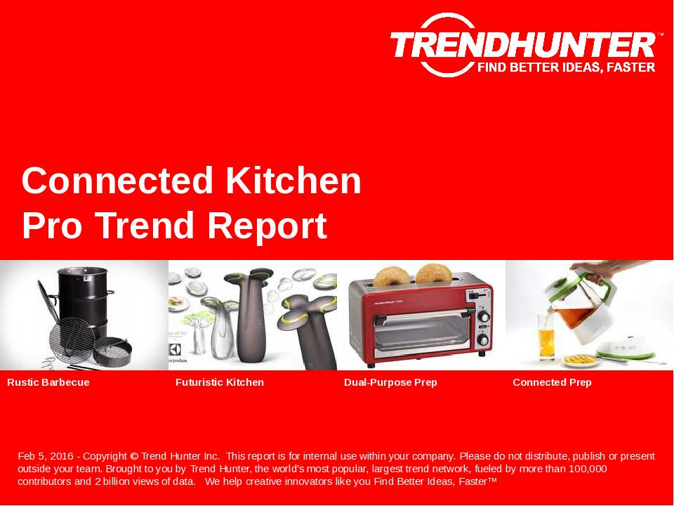 Connected Kitchen Trend Report Research